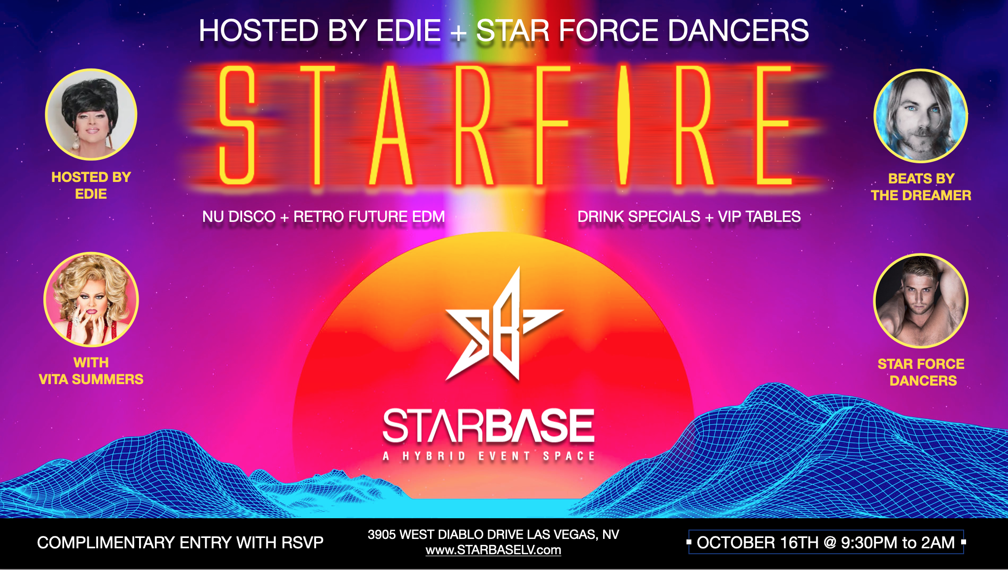 StarFire Starbase Party